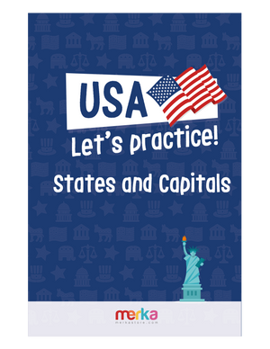 Printables - USA - States and Capitals