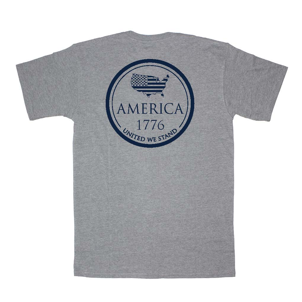 1776 Short Sleeve Pocket Tee