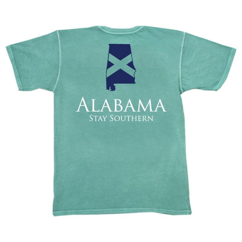 Alabama Classic Stay Southern Short Sleeve Pocket Tee