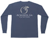 Acworth, GA Hometown Long Sleeve Pocket Tee