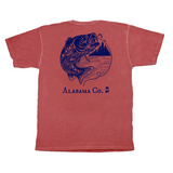 Alabama Jumping Bass Short Sleeve Pocket Tee