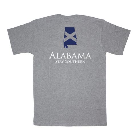 Peach State Pride Classic Stay Southern Short Sleeve Pocket Tee