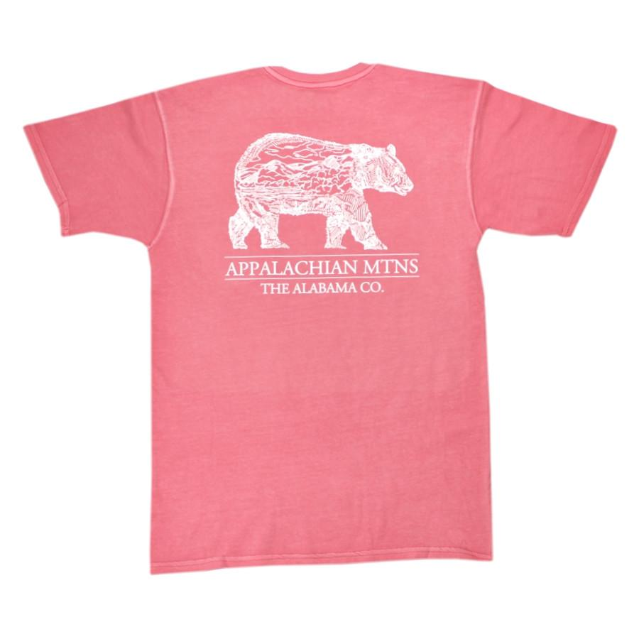 Alabama Black Bear Short Sleeve Pocket Tee
