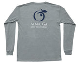 Alma, Ga Hometown Long Sleeve Pocket Tee