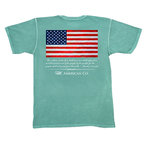 Bass Flag Short Sleeve Tee