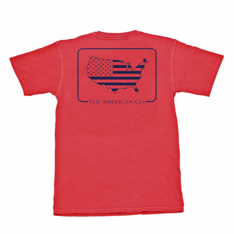 American Patch Short Sleeve Tee