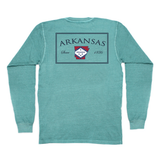 Arkansas Established Long Sleeve Pocket Tee