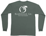 Blairsville, GA Hometown Long Sleeve Pocket Tee