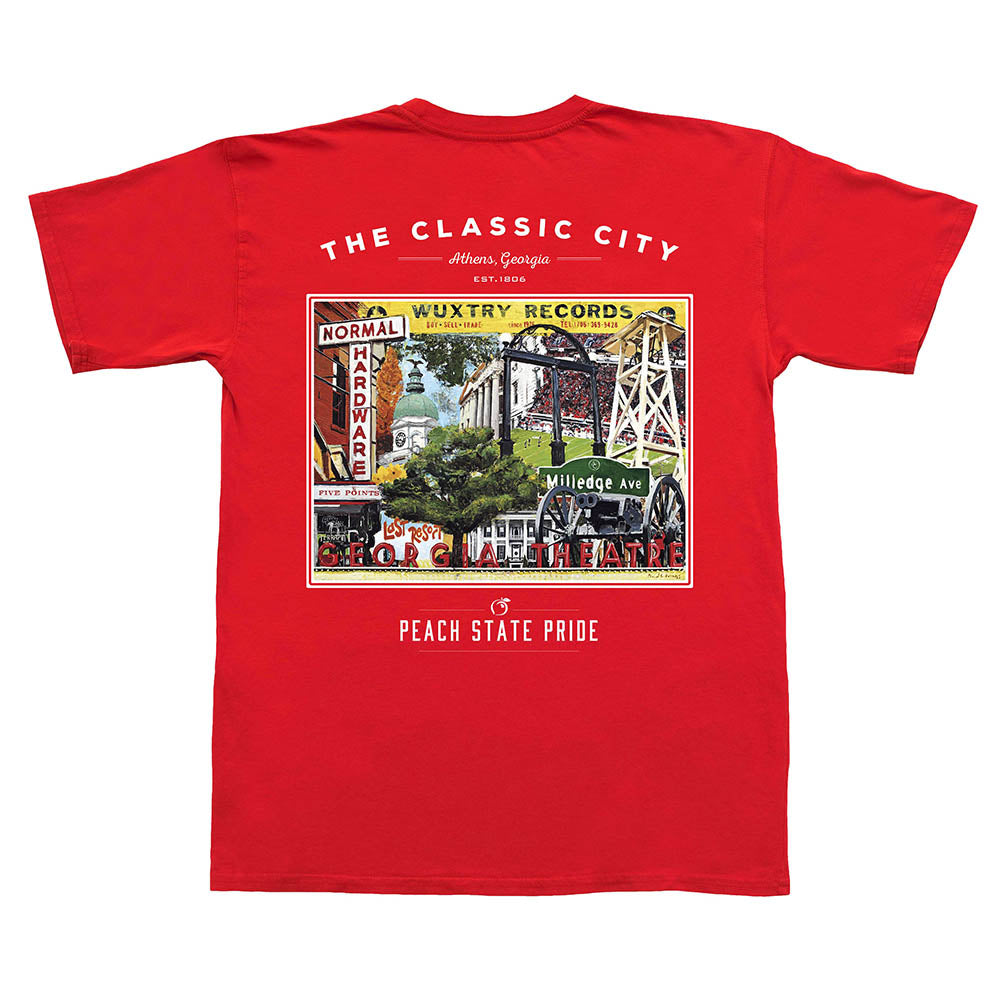 Classic City Establishments Short Sleeve Tee