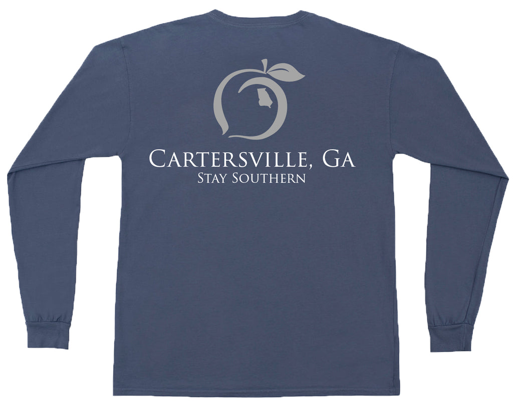 Cartersville, GA Long Sleeve Hometown Tee