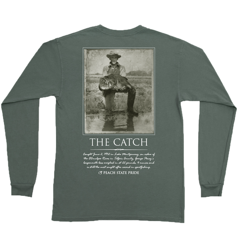 Flying Trout Long Sleeve Pocket Tee