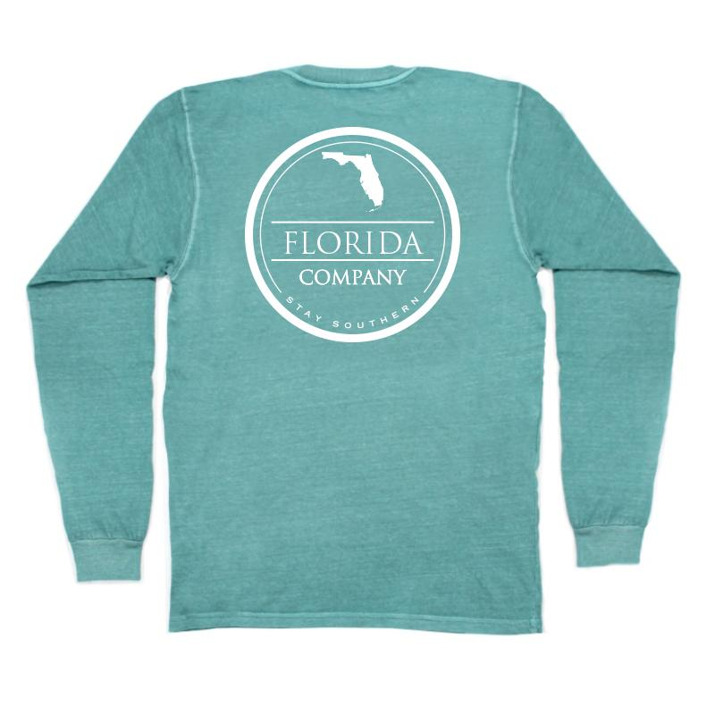 Florida Long Sleeve Pocket Tee
