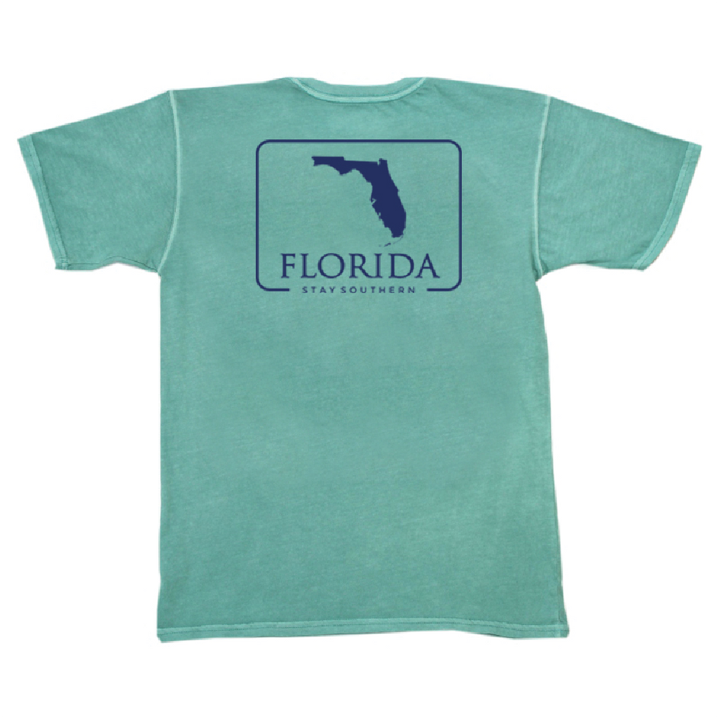 Florida Patch Short Sleeve Pocket Tee
