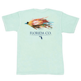 Florida Saltwater Fly Short Sleeve Pocket Tee