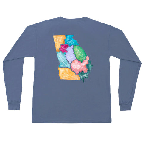 Wormsloe Long Sleeve Tee