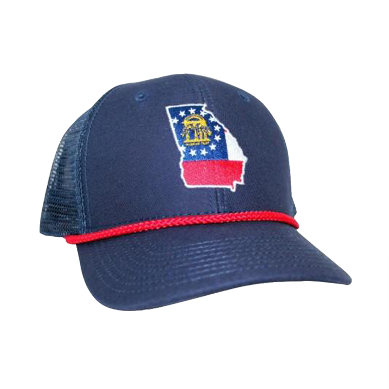 SALE - Georgia Flag Trucker Hat