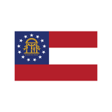Georgia Flag Decal