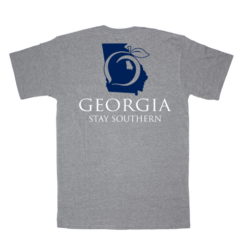 Georgia Patch Pocket Tee