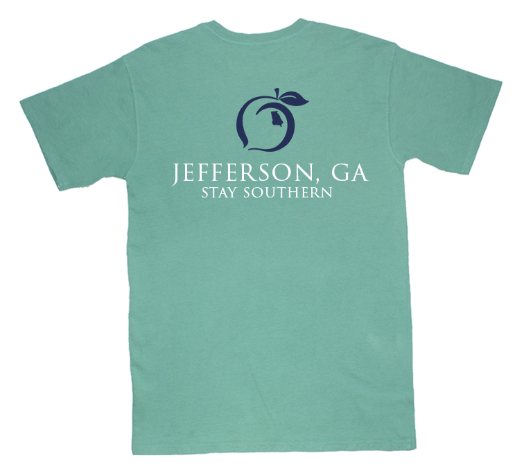 Jefferson, GA Short Sleeve Hometown Tee