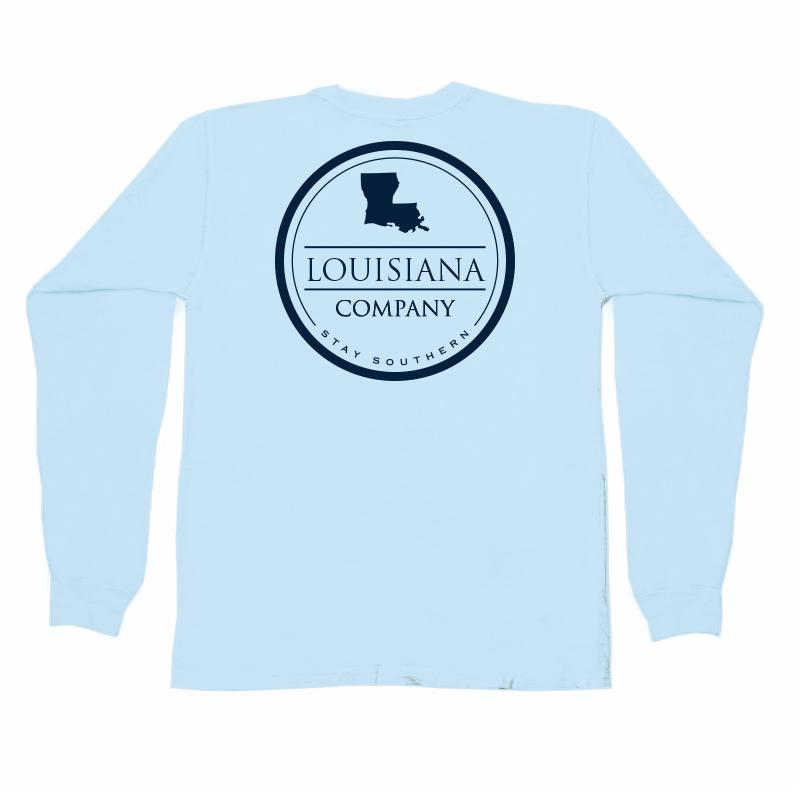Louisiana Long Sleeve Pocket Tee