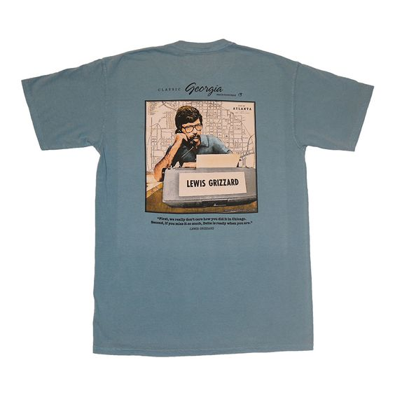 Lewis Grizzard - Ready When You Are Short Sleeve Pocket Tee