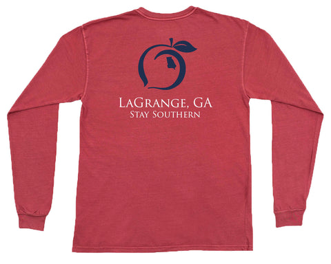 Support Local Farmers Long Sleeve Pocket Tee
