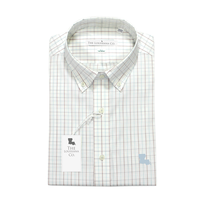 Louisiana Oglethorpe Performance Button Down