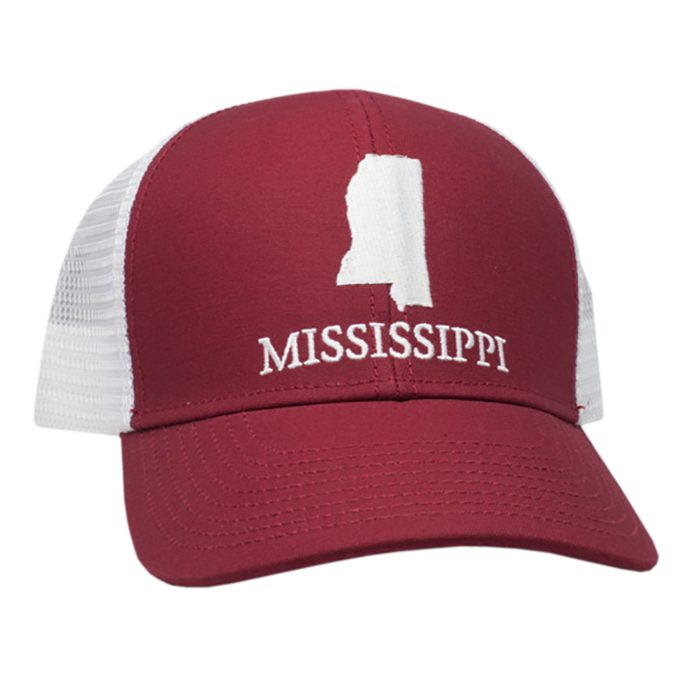 Mississippi Mesh Back Trucker Hat