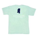 Mississippi Classic Stay Southern Short Sleeve Pocket Tee