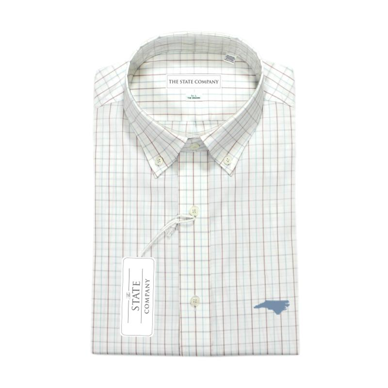 NC Co. Oglethorpe Performance Button Down