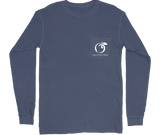 YOUTH Football Montage Long Sleeve Pocket Tee