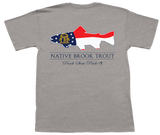 Georgia Brookie Flag Short Sleeve Pocket Tee