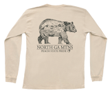 North Georgia Topo Bear Long Sleeve Tee