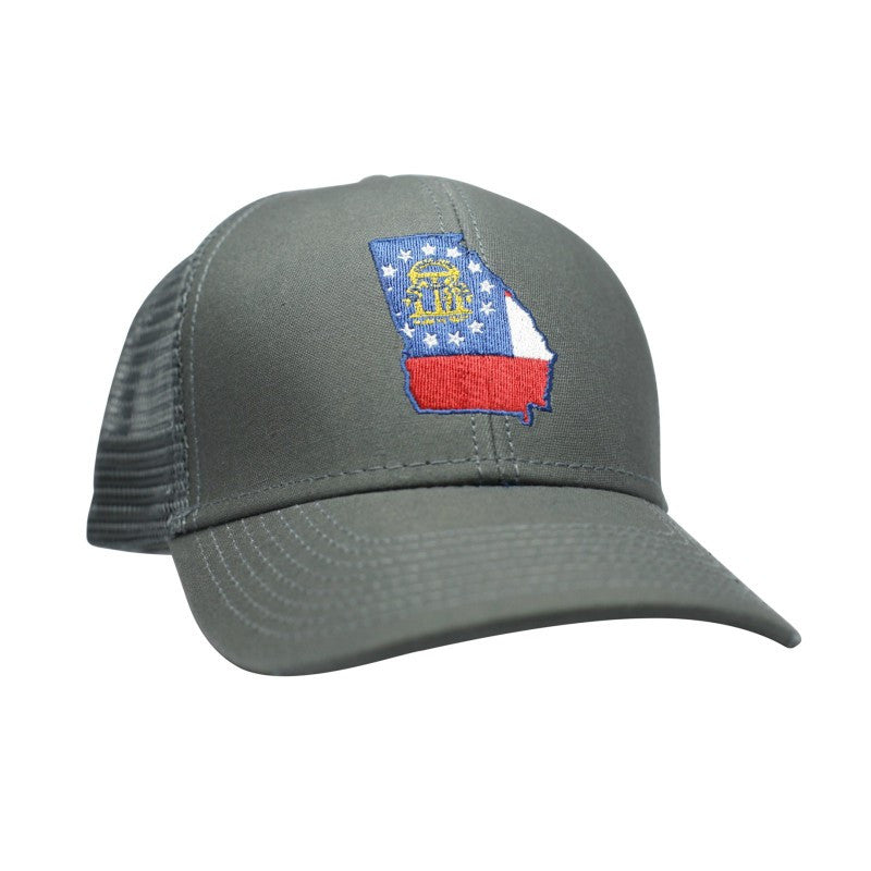 Georgia Flag Trucker Hat  Georgia Flag Trucker Hat ... 33336eb1747