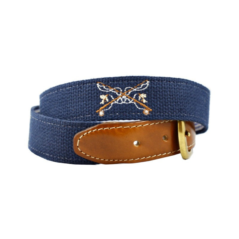 Trout Embroidered Belt