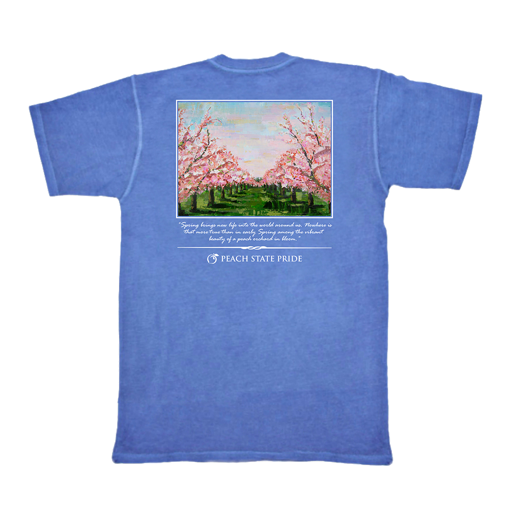 Peach Blossoms Short Sleeve Tee