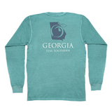 Georgia Stay Southern Long Sleeve Pocket Tee