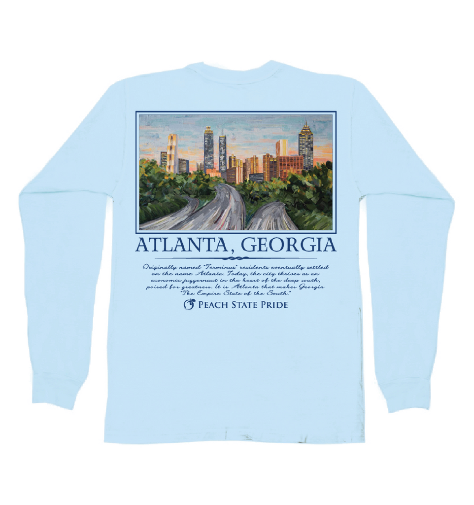 Atlanta Skyline Long Sleeve Tee