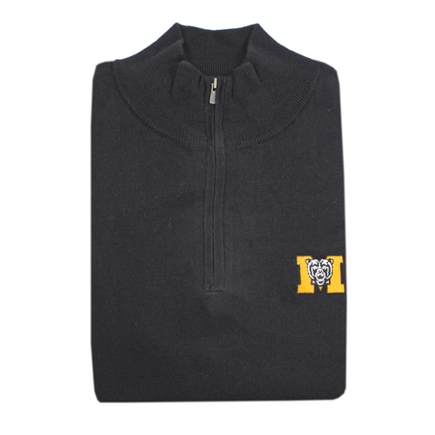 KSU Cotton/Cashmere Pullover Black