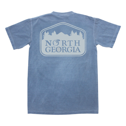 Georgia Stay Southern Pocket Tee
