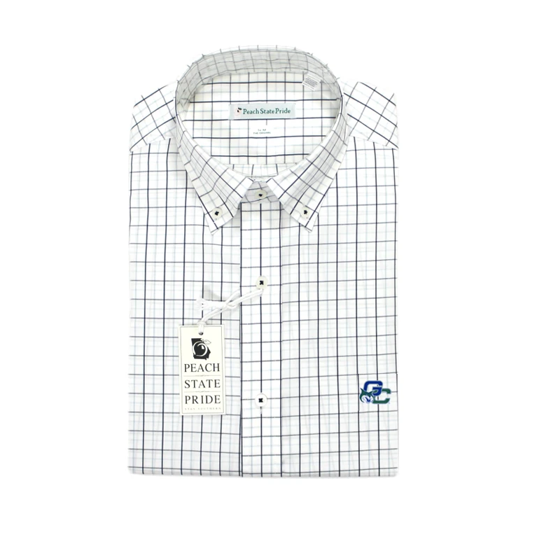 GCSU Lumpkin Performance Button Down