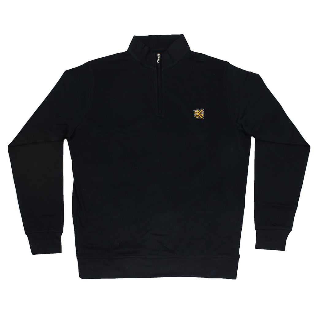 KSU 100 % Cotton Pullover Black