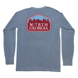 North Georgia Long Sleeve Pocket Tee