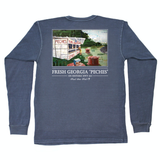 Peches Long Sleeve Tee