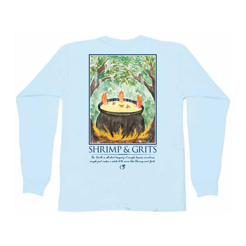 Sweet Georgia Peach Long Sleeve Tee