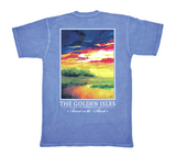 Sunset On the Marsh Pocket Tee