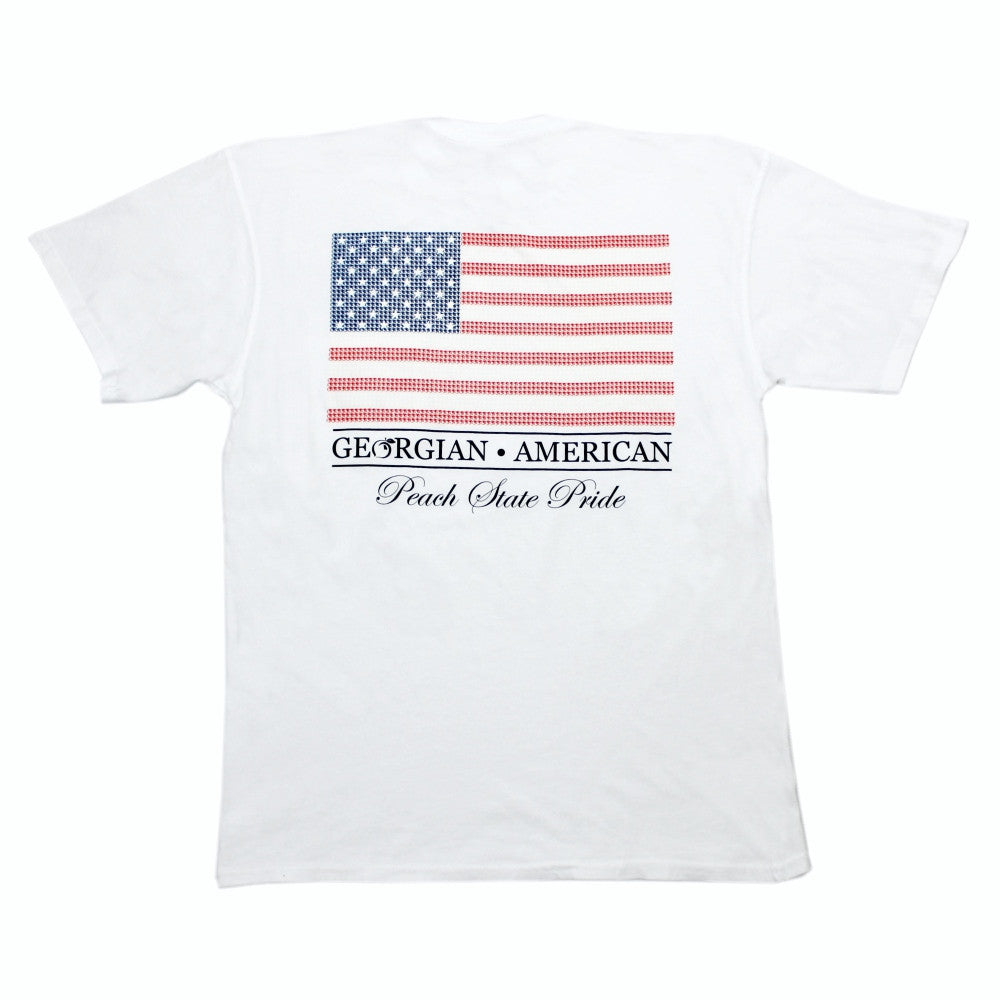 Georgian-American Short Sleeve Tee
