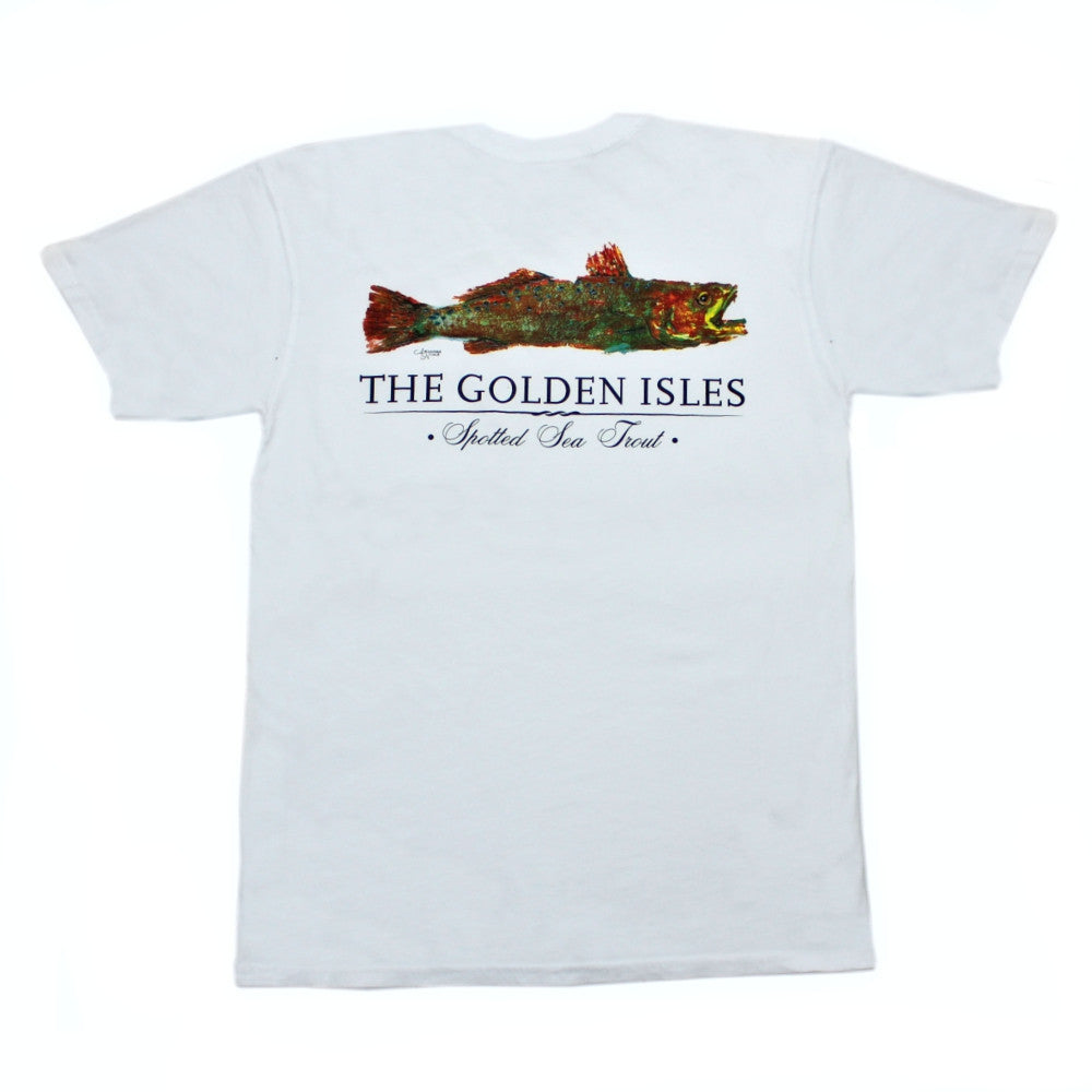 Golden Isles Sea Trout Pocket Tee