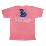 Georgia Stay Southern Short Sleeve Pocket Tee