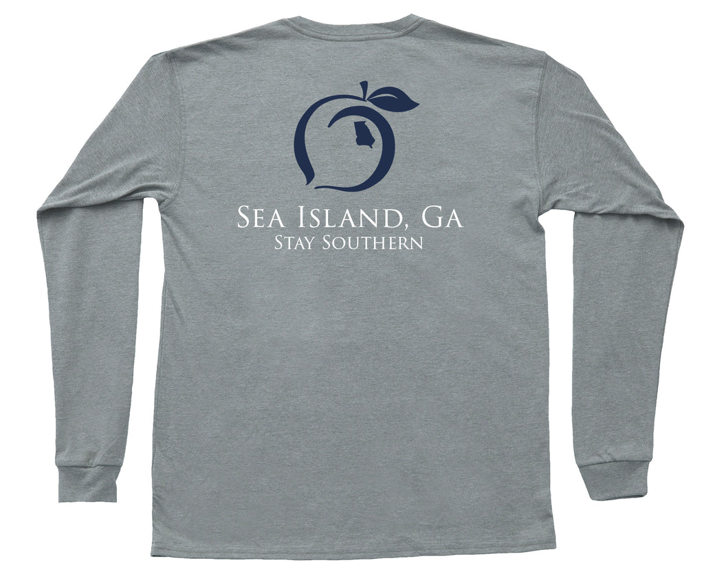 Sea Island Long Sleeve Hometown Tee